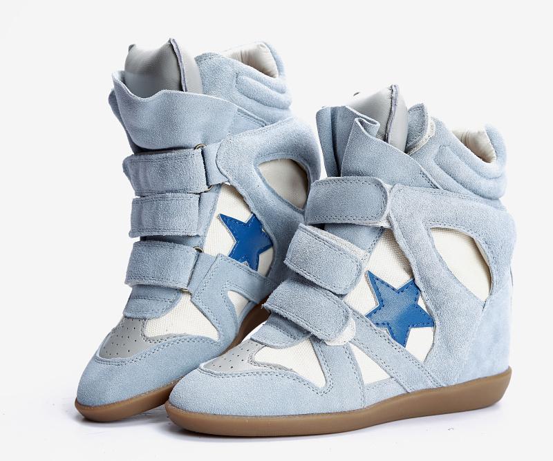 Синие со звездой Isabel Marant